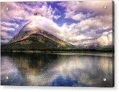 Swirling Clouds Acrylic Print by Andrew Soundarajan
