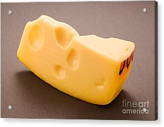 Swiss Cheese Acrylic Print by Danny Smythe