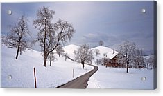 Switzerland, Canton Of Zug, Linden Acrylic Print by Panoramic Images