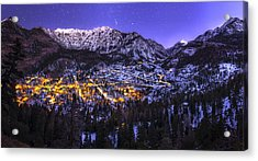 Switzerland Of America Acrylic Print by Taylor Franta