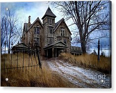 Sydenham Manor Acrylic Print by Tom Straub