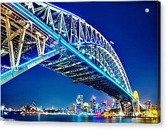 Sydney Blues Acrylic Print by Az Jackson