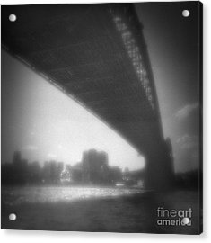 Sydney Harbour Bridge And North Sydney Acrylic Print by Colin and Linda McKie