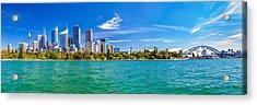 Sydney Harbour Skyline 3 Acrylic Print by Az Jackson