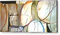 Sylvia Acrylic Print by Lynn Hughes