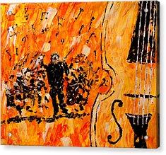 Symphony Acrylic Print by Mark Moore