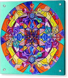Synchronicity Acrylic Print by Teal Eye  Print Store