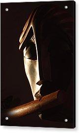 Syrinx A Wood Spirit Acrylic Print by Windy Dankoff