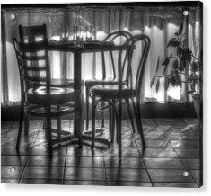 Table For Four Acrylic Print by Nikolyn McDonald