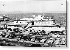 Tacoma Ship Restaurant Acrylic Print by Underwood Archives