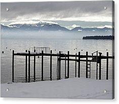Tahoe Acrylic Print by Alison Miles