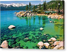 Tahoe Bliss Acrylic Print by Benjamin Yeager