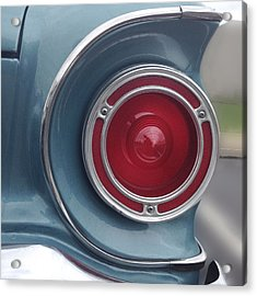 Tail Light Ford Falcon 1961 Acrylic Print by Don Spenner