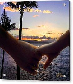 Take My Hand Acrylic Print by Doug Kreuger