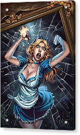 Tales From Wonderland Alice  Acrylic Print by Zenescope Entertainment