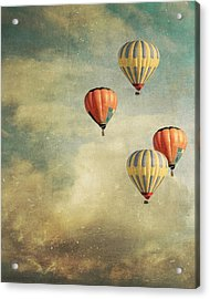 Tales Of Far Away Acrylic Print by Violet Gray