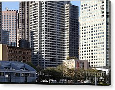 Tall Buildings Of San Francisco - 5d20505 Acrylic Print by Wingsdomain Art and Photography