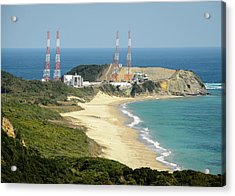 Tanegashima Space Center Acrylic Print by Nasa/bill Ingalls