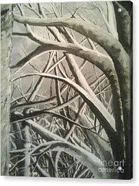 Tangle Acrylic Print by Erik Coryell