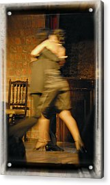 Tango Connection Acrylic Print by Steven Boone