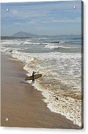 Tarifa, Costa De La Luz, Cadiz Acrylic Print by Ben Welsh