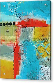 Tarot Art Abstract Acrylic Print by Corporate Art Task Force