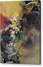 Tarot Card Abstract 005 Acrylic Print by Corporate Art Task Force