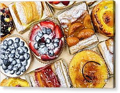 Tarts And Pastries Acrylic Print by Elena Elisseeva