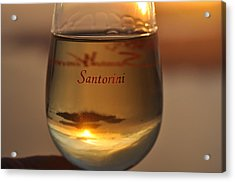 Tasting Sunsets Acrylic Print by Kathy Schumann