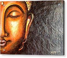 Tathagatha - Serene Buddha  Acrylic Print by Kami