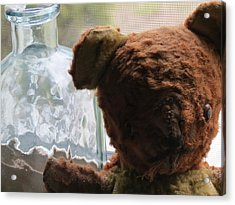 Tattered With Love Acrylic Print by Devin Stone