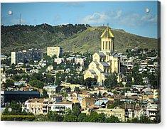 Tbilisi Acrylic Print by Andrey Tovstyzhenko