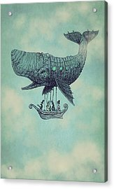 Tea At Two Thousand Feet Acrylic Print by Eric Fan