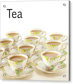 Tea Concept Acrylic Print by Colin and Linda McKie
