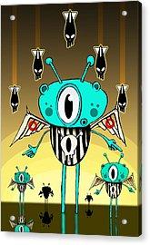 Team Alien Acrylic Print by Johan Lilja
