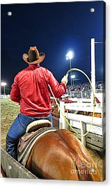 Team Roper Acrylic Print by Olivier Le Queinec