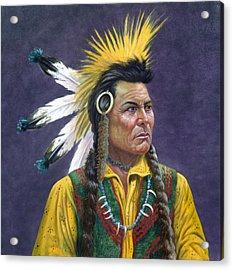 Tecumseh Acrylic Print by Gregory Perillo
