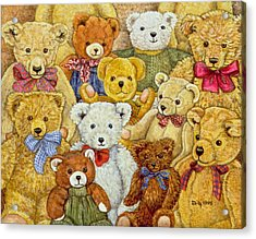 Ted Patch Acrylic Print by Ditz