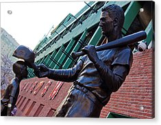 Ted Williams Statue Acrylic Print by John McGraw