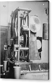Telescope Clock, Sydney Observatory Acrylic Print by Science Photo Library