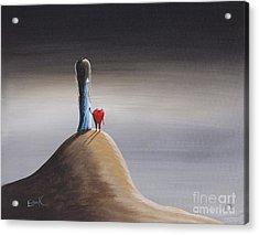 Tell Me What You See By Shawna Erback Acrylic Print by Shawna Erback