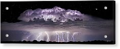 Tempest - Craigbill.com - Open Edition Acrylic Print by Craig Bill