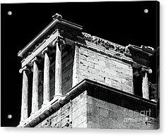 Temple Of Athena Nike Acrylic Print by John Rizzuto