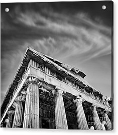 Temple Of Hephaestus- Athens Acrylic Print by Rod McLean