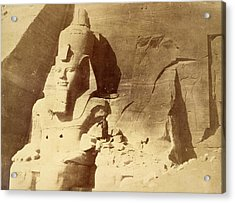 Temple Of Ramses II Acrylic Print by British Library