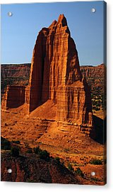 Temple Of The Moon, Lower Cathedral Acrylic Print by Michel Hersen