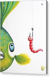 Temptation Acrylic Print by Oiyee At Oystudio