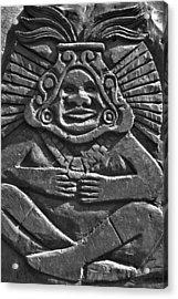 Tenancingo's Malinche Acrylic Print by John  Bartosik