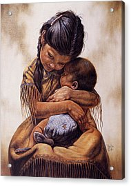 Tender Love Acrylic Print by Gregory Perillo