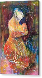 Tender Moment Acrylic Print by Marilyn Jacobson